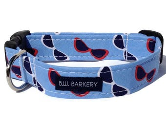 Sunglasses collar for Small to Large Dogs