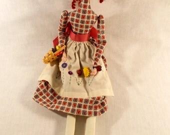 Handmade Cloth Sewing Doll