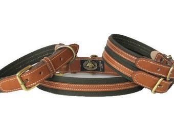 SAFARI Classic Luxury Dog Collar | CLOSEOUT