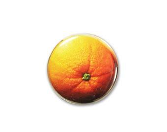 1 Inch Pinback Button Original - Whole Orange