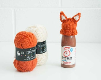 Mini Fox Hat - Innocent Big Knit Charity Kit