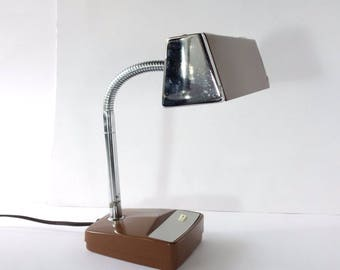 Industrial Desk Lamp Mid Century Mobilite Goose Neck Task Light