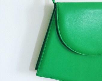 Vintage Apple Green Shoulder Bag