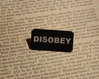 Anti-Trump Jewelry Solidarity jewelry DISOBEY
