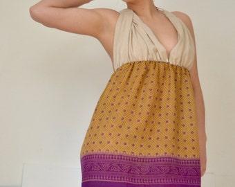Boho Chic Mini Pixi Dress