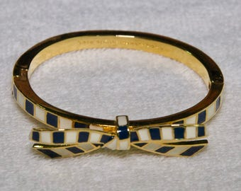 Kate Spade Enamel Bow Bracelet
