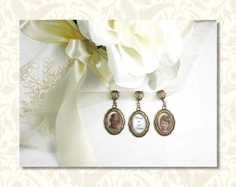 bridal bouquet charms custom photo charms wedding bouquet embellishments memory jewelry ring