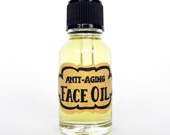 FACE OIL - Anti-aging - All Skin Types / Mature Skin - Pomegranate / Frankincense