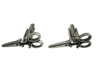 Textured Scissor Cufflinks