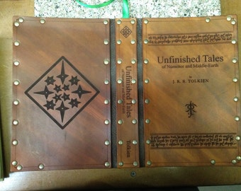 Leather cover for Unfinished Tales by J.R.R. Tolkien
