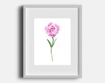 Grandma's Favorite - Minimalist Watercolor Print - Mother's Day Gift