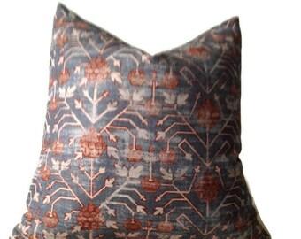 Zak and Fox Pillow Khotan in Rubia, Bohemian Pillow, Geometric, Designer Pillow, Decorative Throw Pillow Cover, Home Decor, Home and Living
