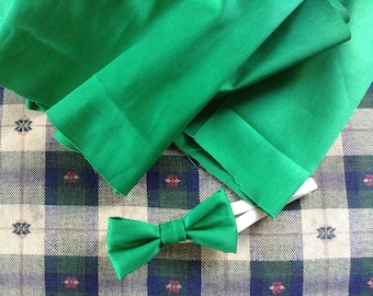 Kelly green color little boys bow ties  Qty 1