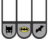 Batman Bed Pockets / Bed organizers / Room organizer / Bed storage / Bedside storage / Fabric organizer