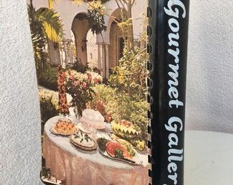 Vintage regional cookbook Gourmet Gallery from Florida