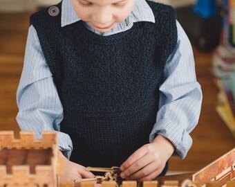 Whitby Vest (knitting pattern)