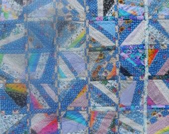 Blue Lap Quilt