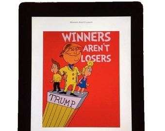 eBook Version Winners Aren't Losers Donald Trump Children's Book