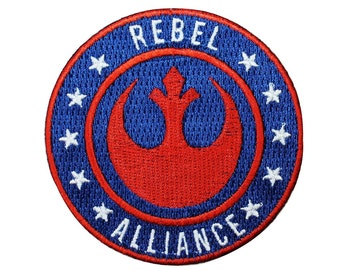 Disney Star Wars Rebel Alliance Symbol Patch Officially Licensed Iron On Applique