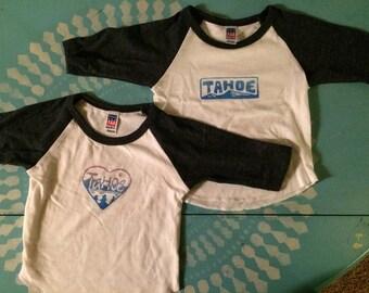 Infant Baseball 3/4 sleeve tee