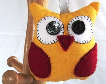Percy the Owl Hanging Decoration