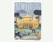 Nature A3 print - rewild ...