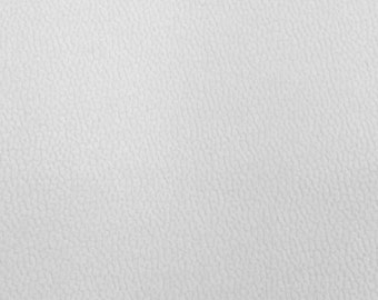 Semi Stretch Vinyl White 56 Inch Wide Fabric by the Yard - 1 Yard