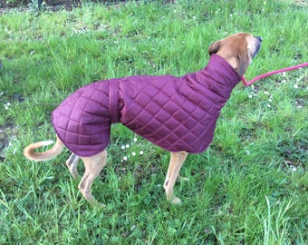 Whippet coats waterproof and fleece lined