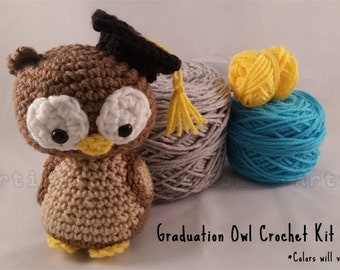 Graduation Owl Crochet Kit