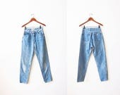 Vintage Guess Jeans / Guess Jeans 26 / High Waisted Jeans / Mom Jeans / 90s Denim / Skinny Jeans / Tapered Leg