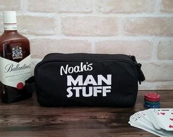 Personalised Groom Toiletry Bag; Men's Toiletry bag; Custom toiletry bag; Personalised Bestman Gift; Groom gift; groomsmen gift toiletry bag