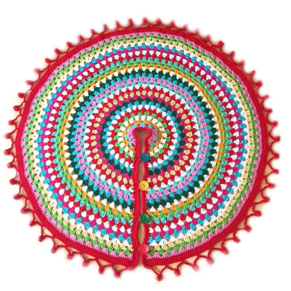Crochet tree skirt | Etsy