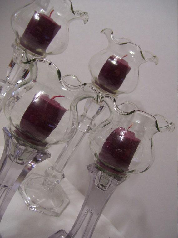 Vintage peg votive cups homco home interior replacements Home interior votive cups