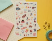 Human Taco ~ Planner stickers sheet