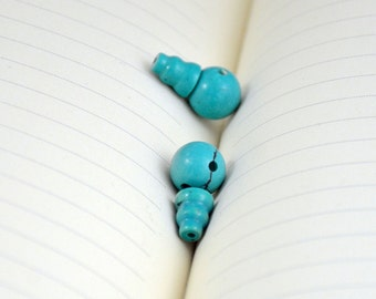 Superb Turquoise Beads 12mm 10mm Round Buddha Turquoise Beads for Necklace and Bracelet