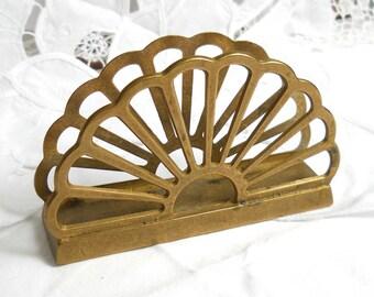 vintage brass napkin holder brass etter holder vintage brass mail holder vintage brass home decor