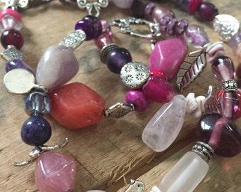 Mixed Up in Purple Bracelets