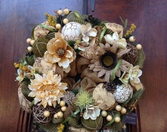 Neutral Year Round Wreath