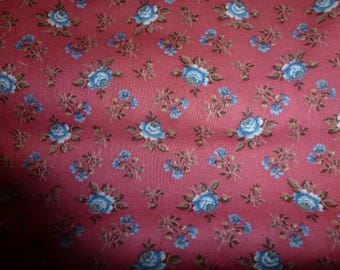 One Yard Vintage V.I.P. Quilt Cotton Fabric by Cranston Print Works