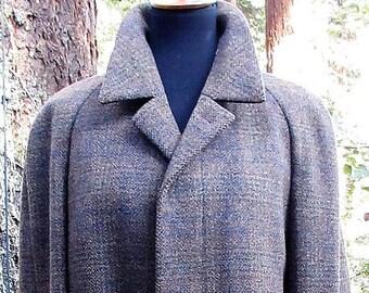 Best Wool Coat Made....German WW2 Modell Louisoder Wool Coat/Men's Large German Wool Coat/Warm Heavy Winter Wool Coat/Quality Wool Coat
