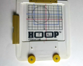 Embroidery Machine Hoop for Baseball Caps and other Difficult to Hoop Items - Hoop It All T-96