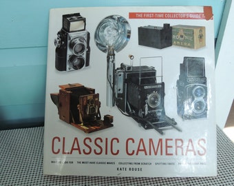 Camera Book, 'Classic Cameras' by Kate Rouse, Published 1994, Hardcover Very good condition, Vintage