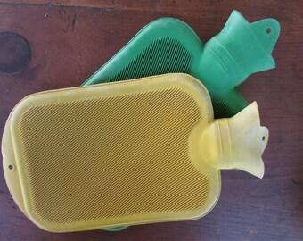 Hot Water Bottle Vintage Rubber Heat Pack Bottle