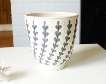Poole Pottery Free form vase by Alfred Read c1950s