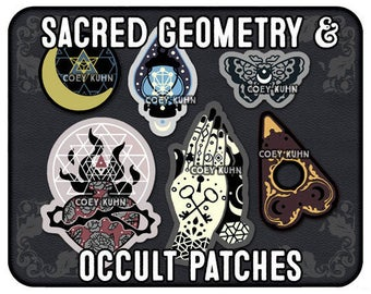 Coey: Occult & Sacred Geometry (Patches)