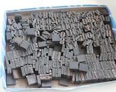 Huge lot of vintage wooden press letters/ letterpress- over 400 in fact