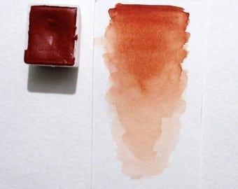 Ercolano Red - Handmade Watercolor Paint
