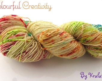 Vanilla sprinkles cupcake - Colourful Sparkle Sock
