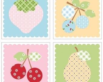 Sew Cherry Magnet Set