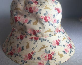 Rabbit Reversible Bucket Hat